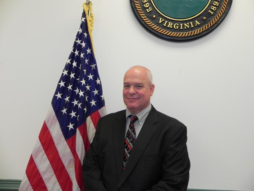 CBPD Chief Danny Plott