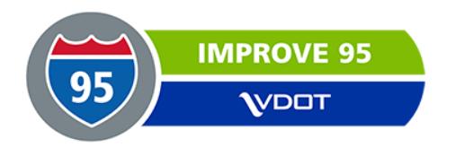 VDOT Improve 95 logo