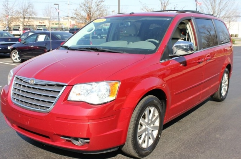 Suspect Chrysler Town & Country Minivan