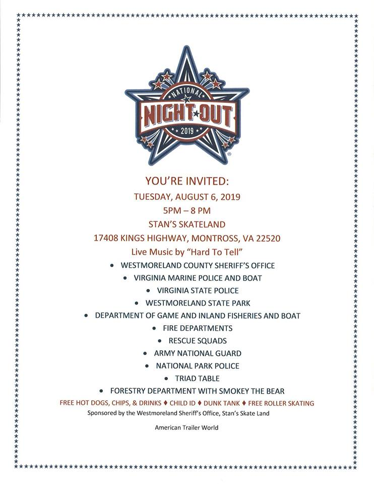 Westco 2019 National Night Out